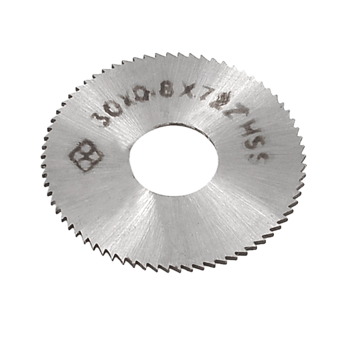 "HSS 1 5/32"" 30mm OD 0.8mm Thickness Toothed 72T Slitting Saw"