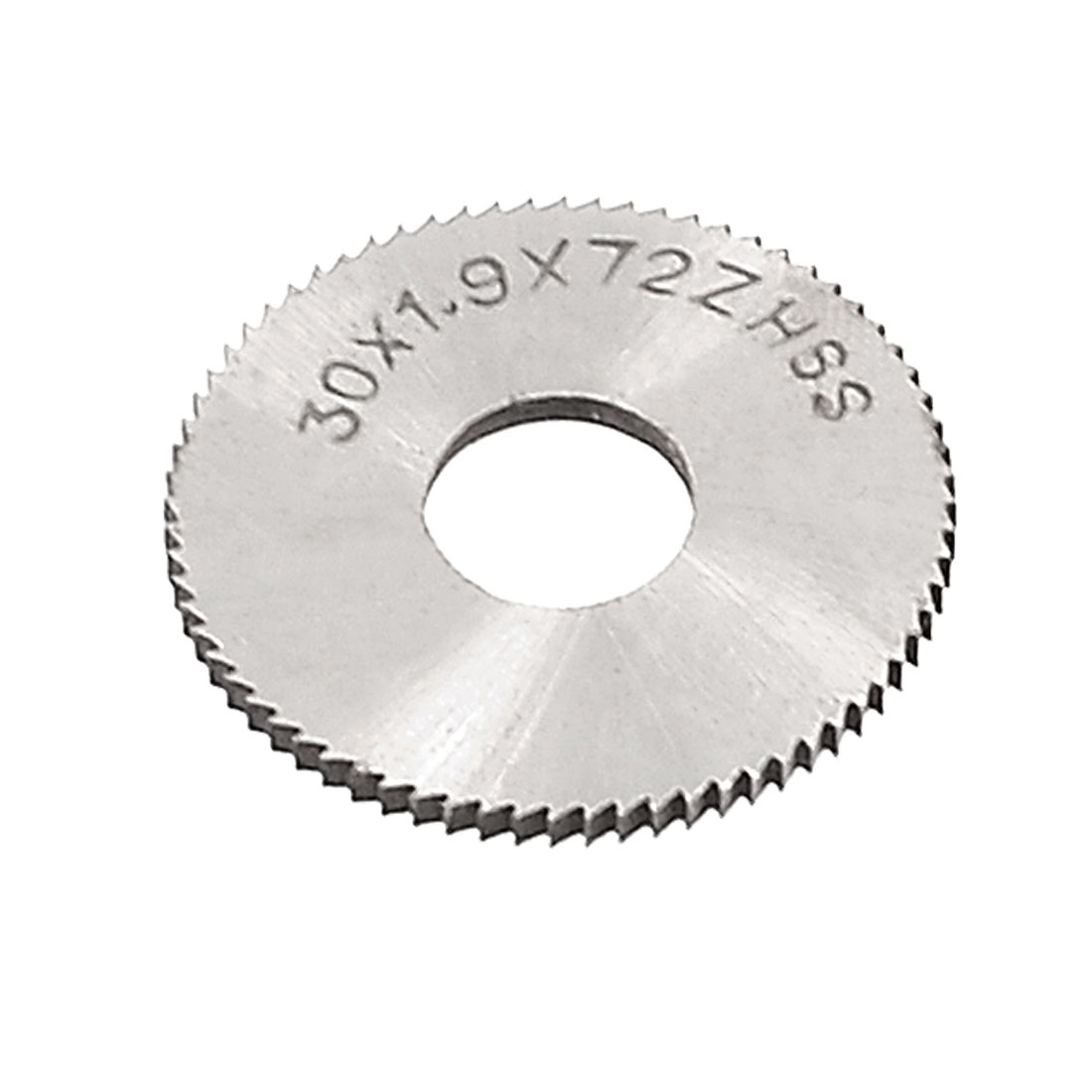 30mm OD 1.9mm Thickness 72T HSS Circular Slitting Saw