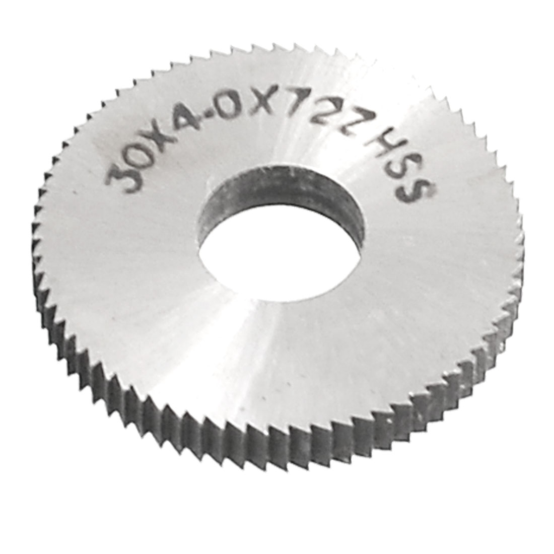 30mm x 4mm x 10mm HSS 72T Round Slitting Saw Cutting Tool