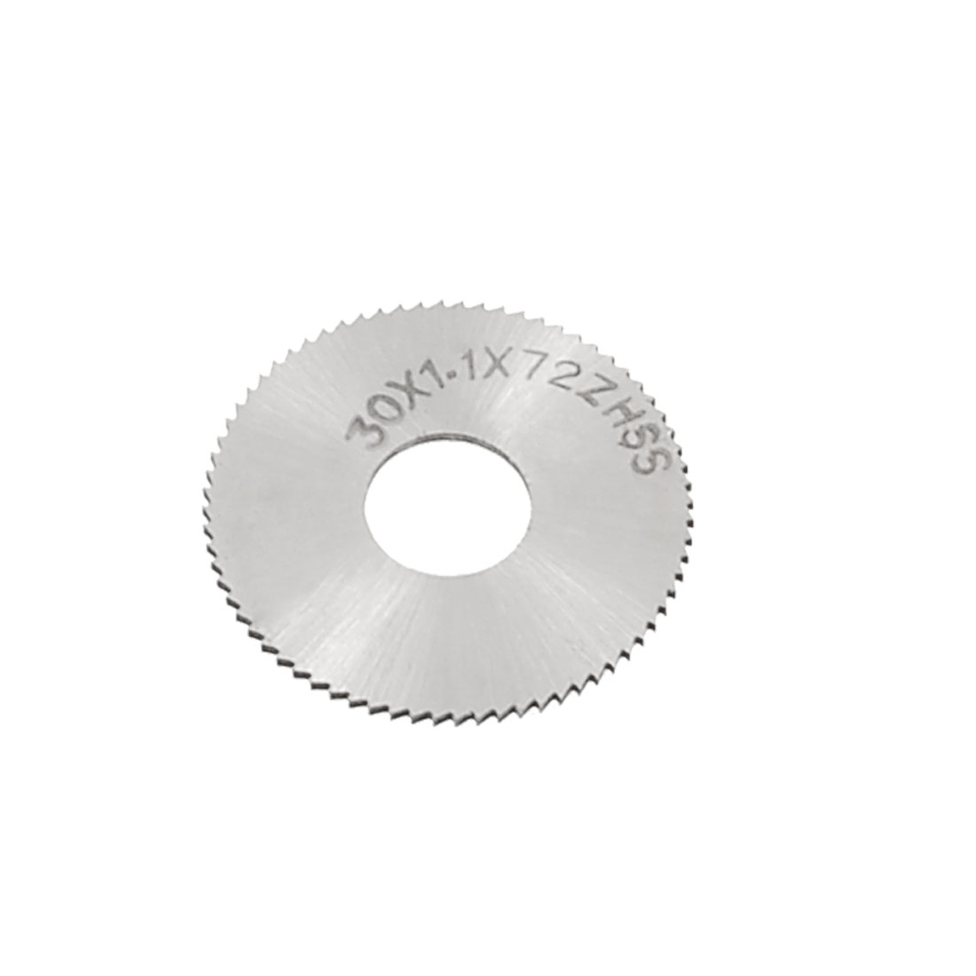 HSS Toothed 72T Slitting Saw Cutting Tool 30mm x 1.1mm x 10mm