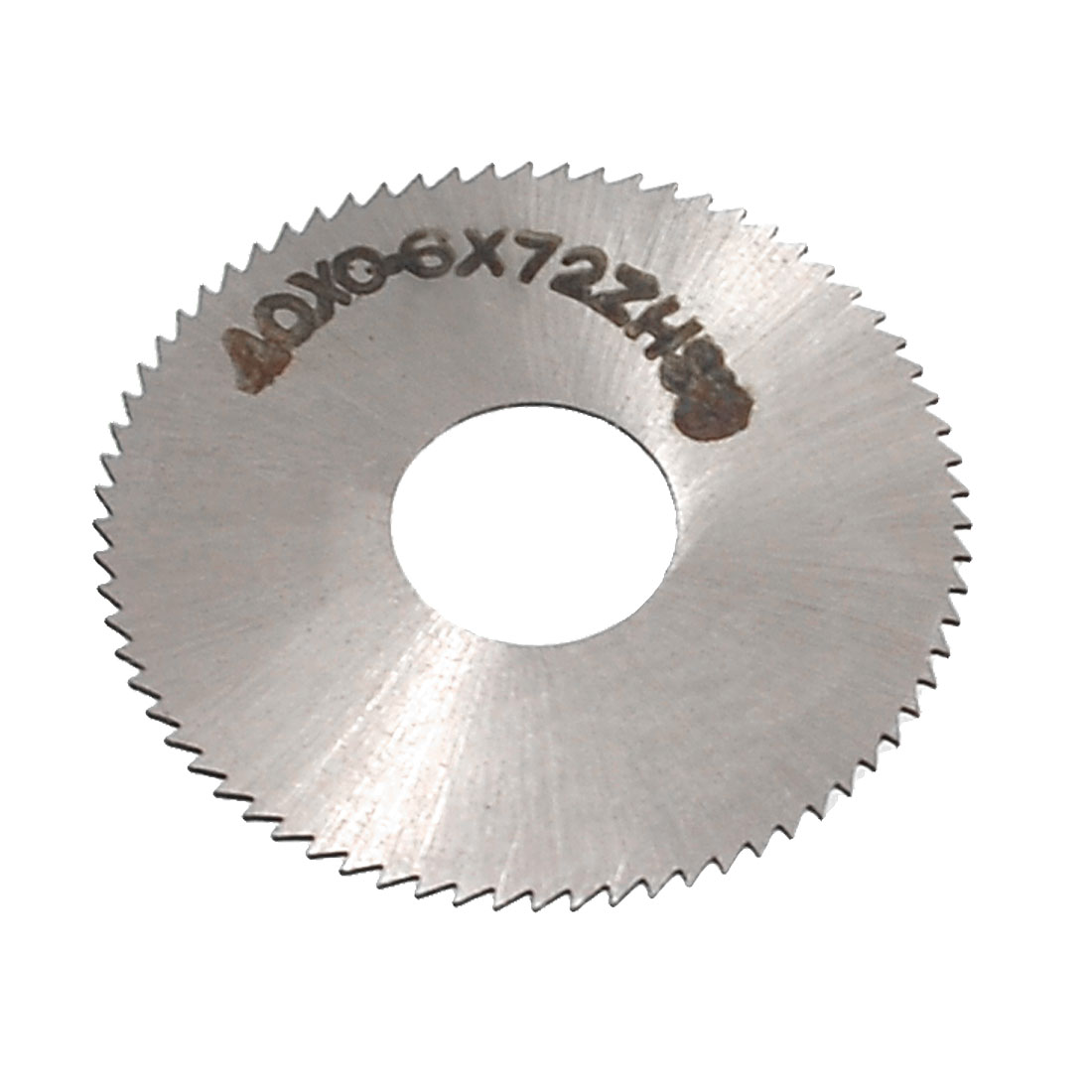 40mm Cutting Dia 0.6mm Thickness 72T Slitting Saw Cutter