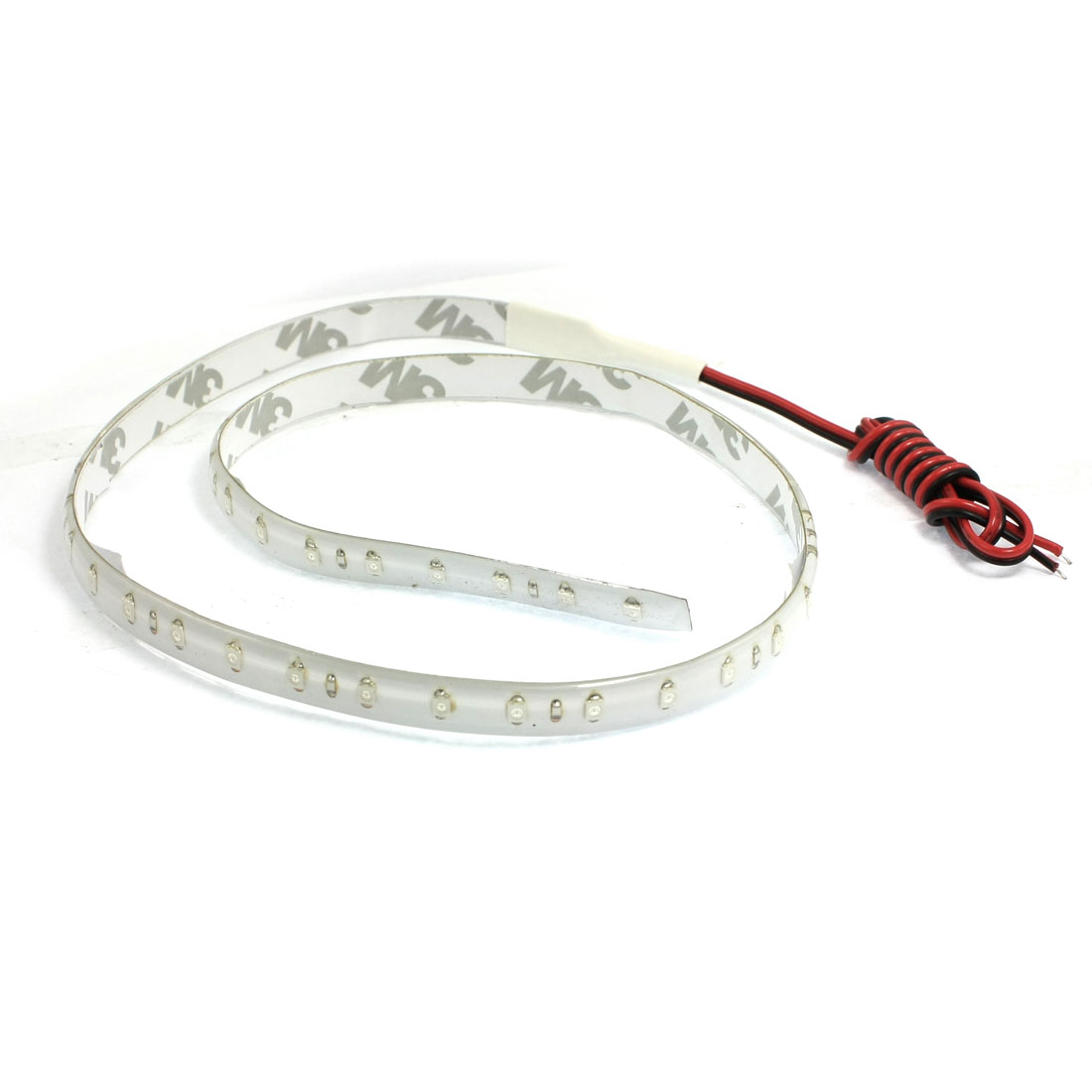 Car Red Green Blue 48 LED 1210 SMD Flexible Decorative Bulb Light Strip 60cm