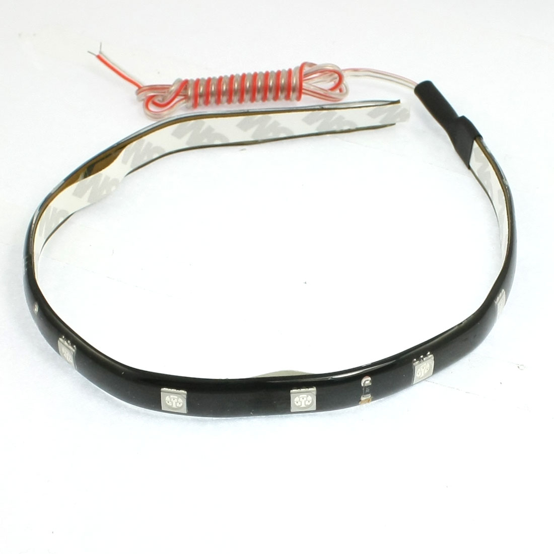 Car Interior Red 5050 SMD 12 LED Flexible Strip Bar Light Lamp 30cm DC 12V