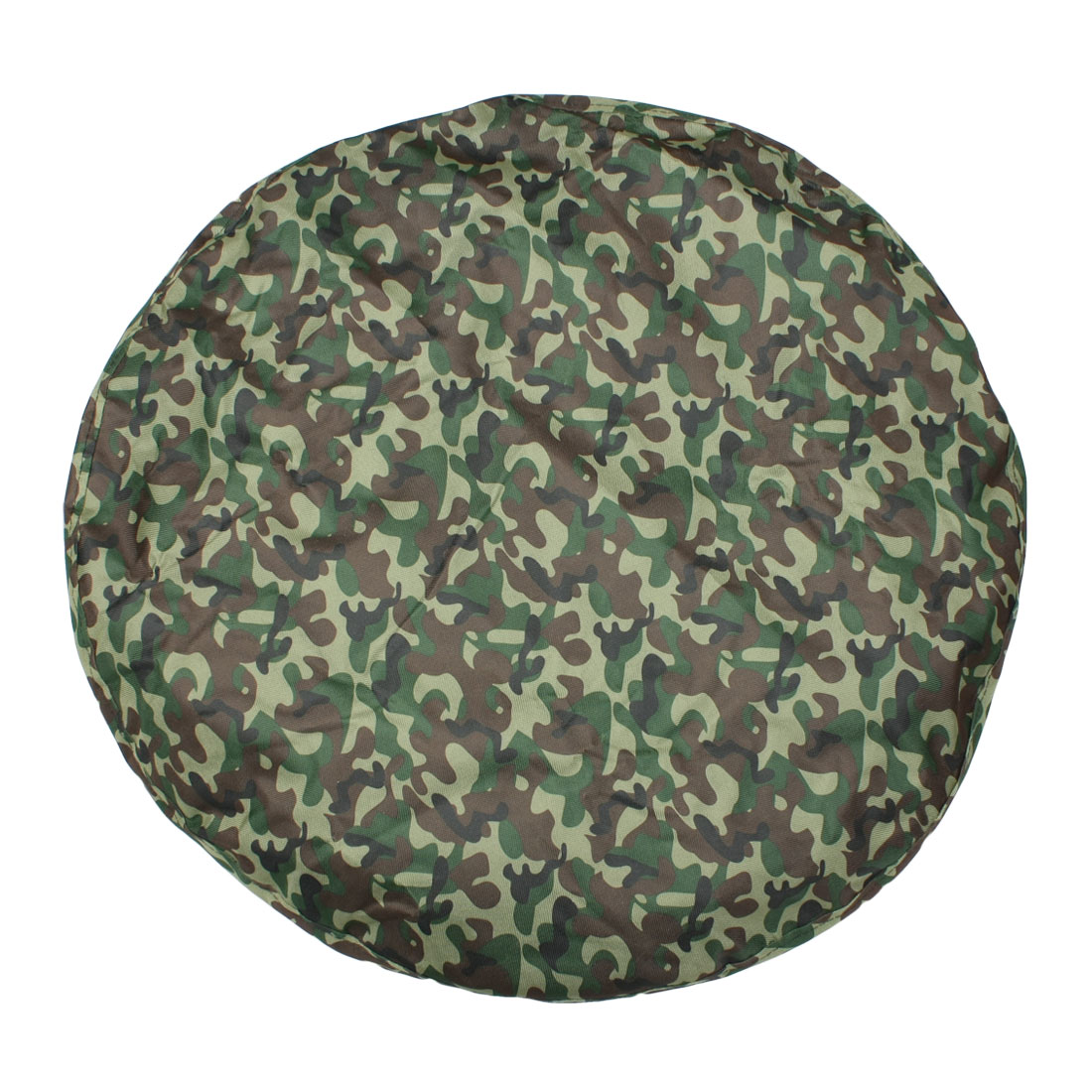 "Nylon Exterior Camouflage Pattern Wheel Spare Tire Cover Protector 27"" Dia"