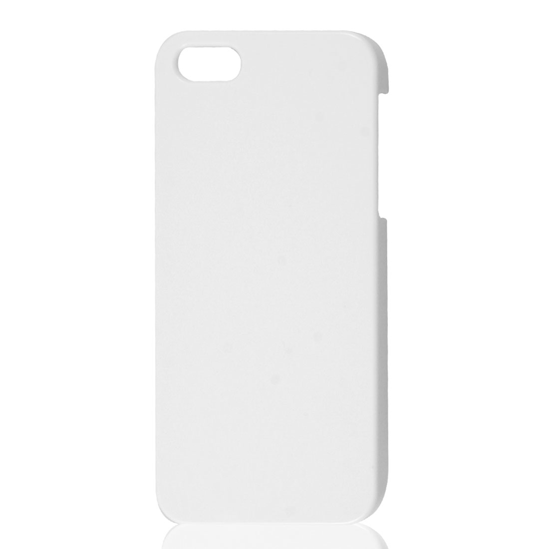 White Hard Back Case Protective Cover Skin for iPhone 5 5G