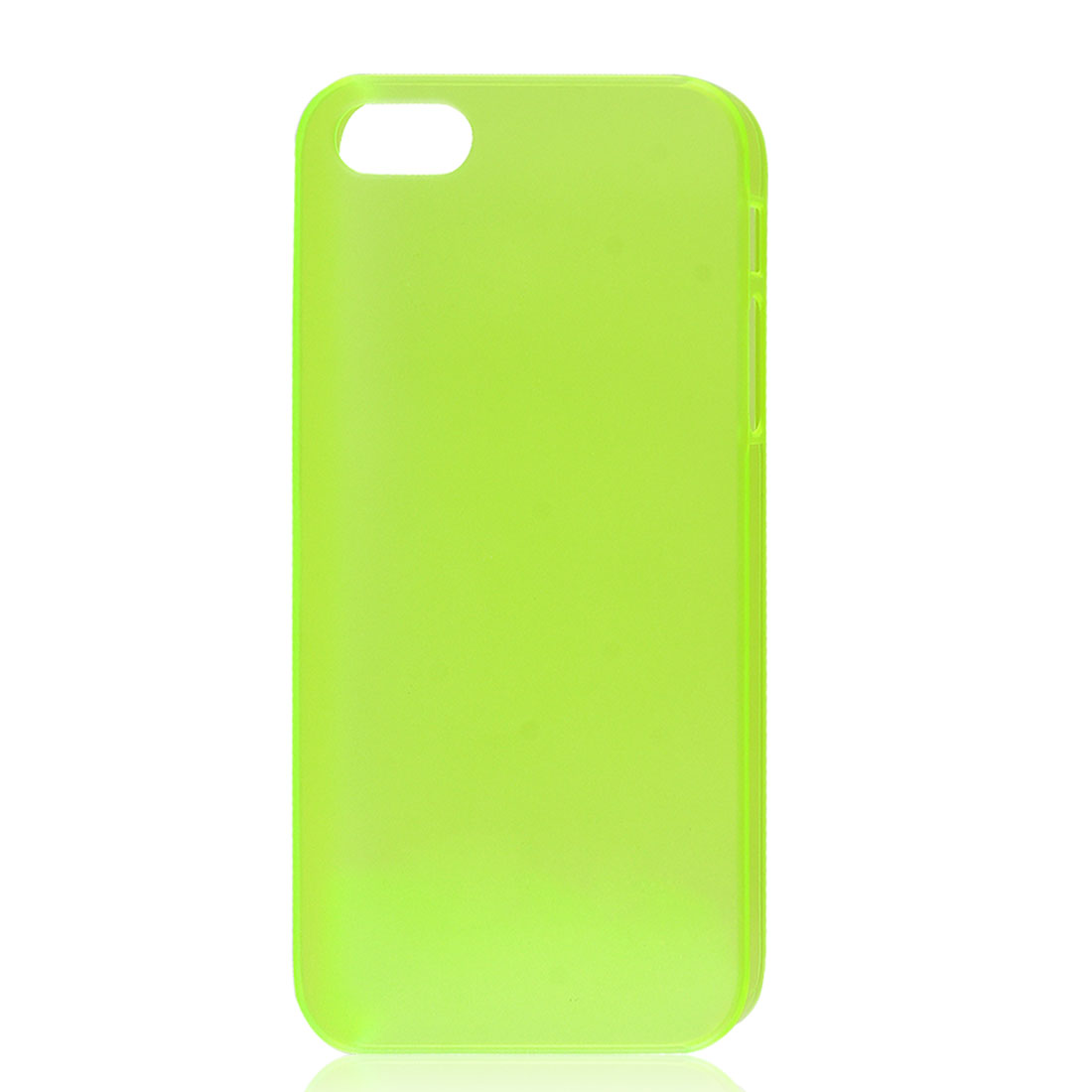 Slim Yellowgreen Plastic Back Case Skin Cover for iPhone 5 5G