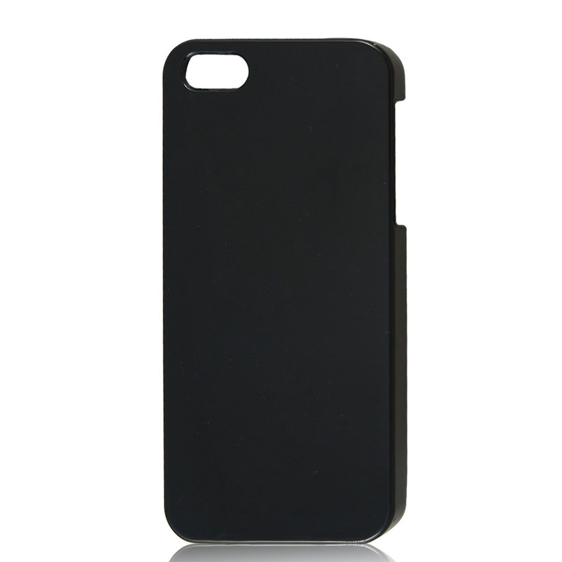 Hard Back Case Skin Cover Shell Black for Apple iPhone 5 5G