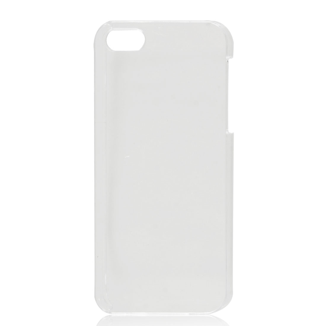 Crystal Clear Hard Back Case Protective Cover Skin for iPhone 5 5G