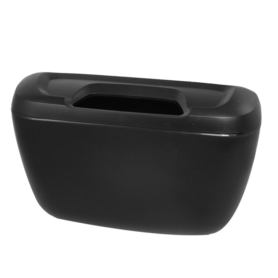 Auto Car Garbage Dust Case Holder Rubbish Trash Bin Can Box Black
