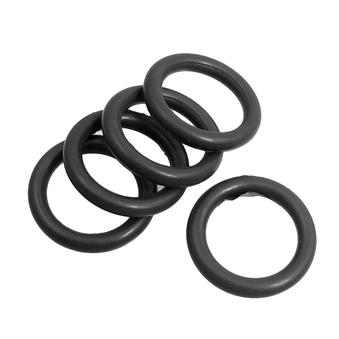 5 Pcs 20mm x 3mm Industrial Rubber O Ring Oil Seal Gaskets for Bosch GBH2-20SE