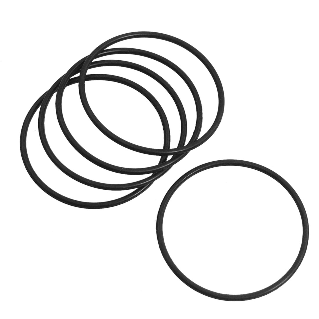 5 Pcs Black 38mm x 1.6mm O Ring Seal Gasket for Dragon 26 Electric Hammer