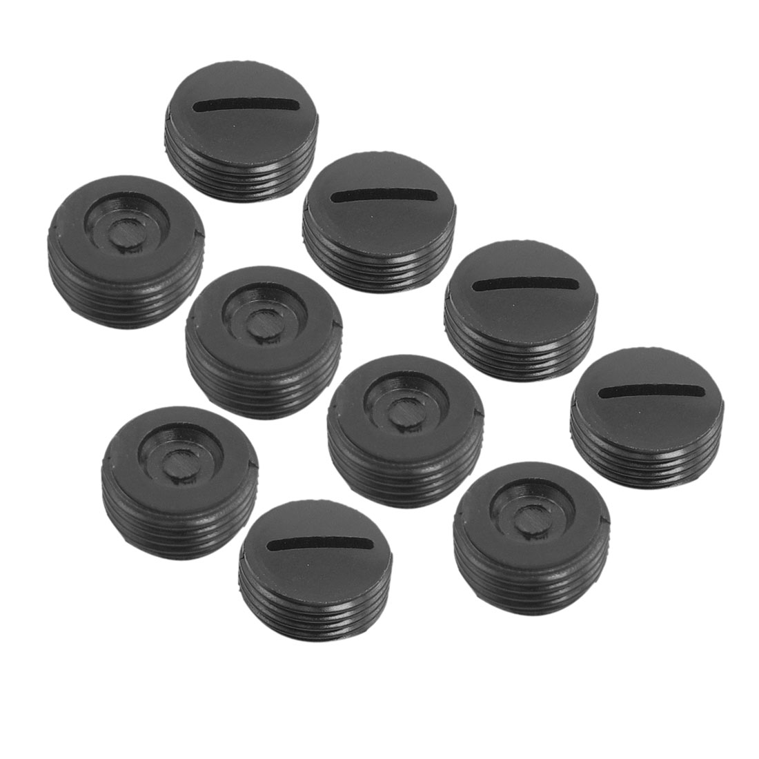 10 Pcs 13mm Diameter Thread Carbon Brush Holder Back Cap for Dragon 26