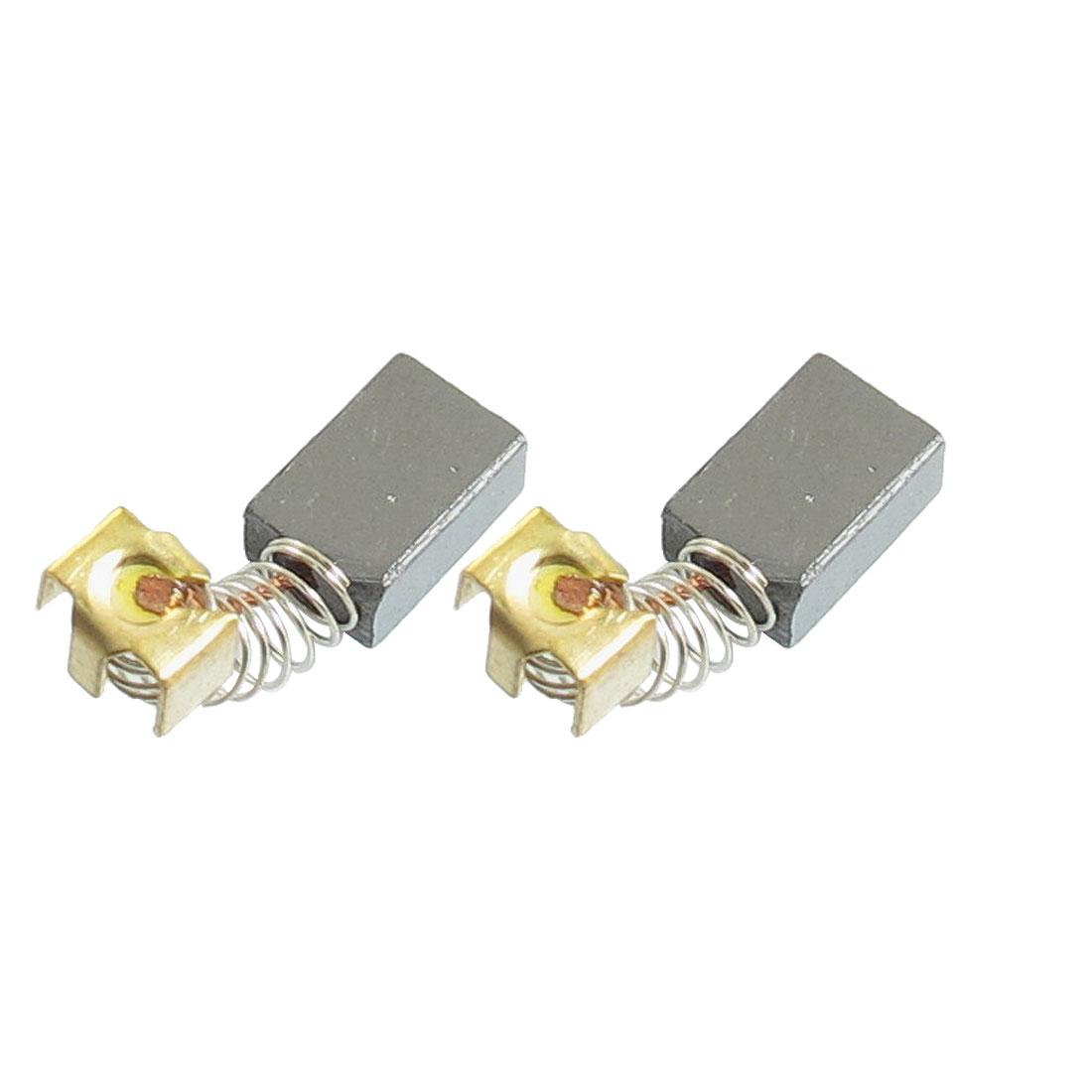 2 Pcs Dongcheng J1Z-FF-10MM 11.5 x 8 x 5mm Electric Motor Carbon Brushes