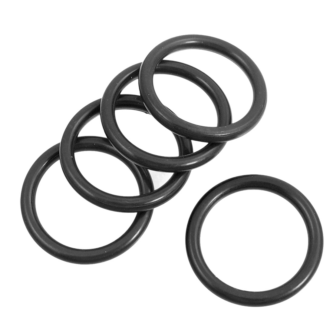 5 Pcs 30mm x 3mm Mechanical Rubber O Ring Oil Seal Gaskets Replacement