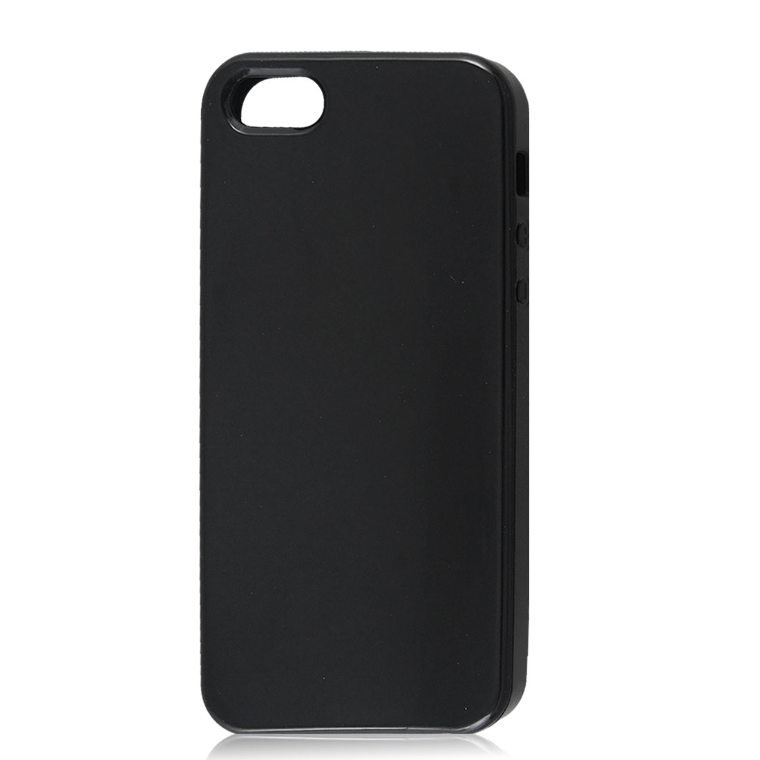 Black Soft Plastic TPU Protective Case Cover Skin for Apple iPhone 5 5G