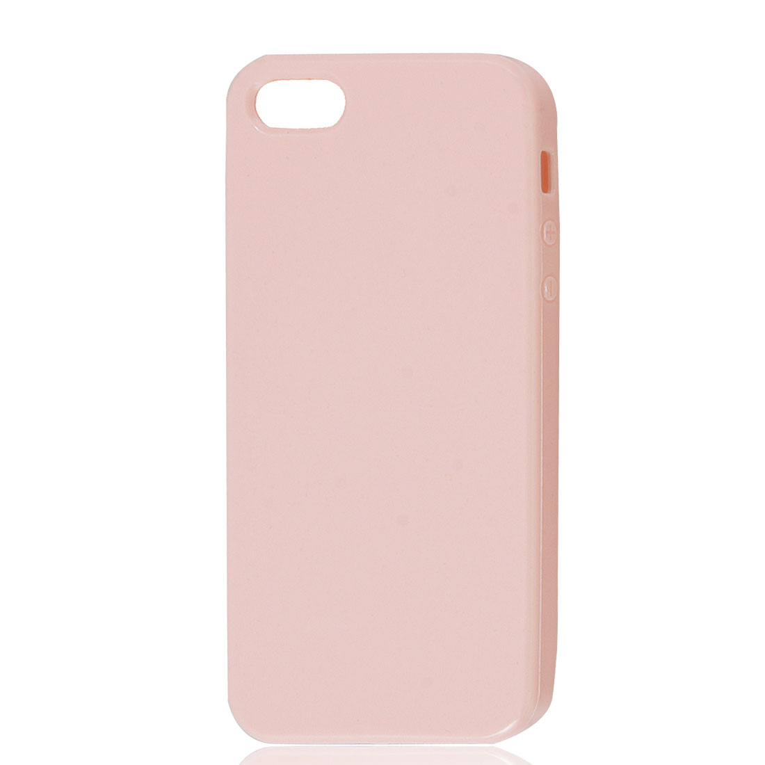 Light Pink Soft Plastic TPU Protective Case Cover Skin for Apple iPhone 5 5G