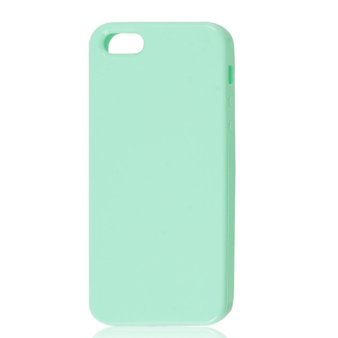 Light Green Soft Plastic TPU Protective Case Cover Skin for Apple iPhone 5 5G
