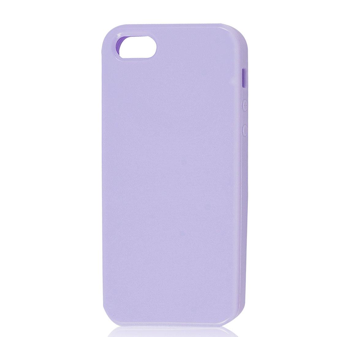 Light Purple Soft Plastic TPU Protective Case Cover Skin for Apple iPhone 5 5G