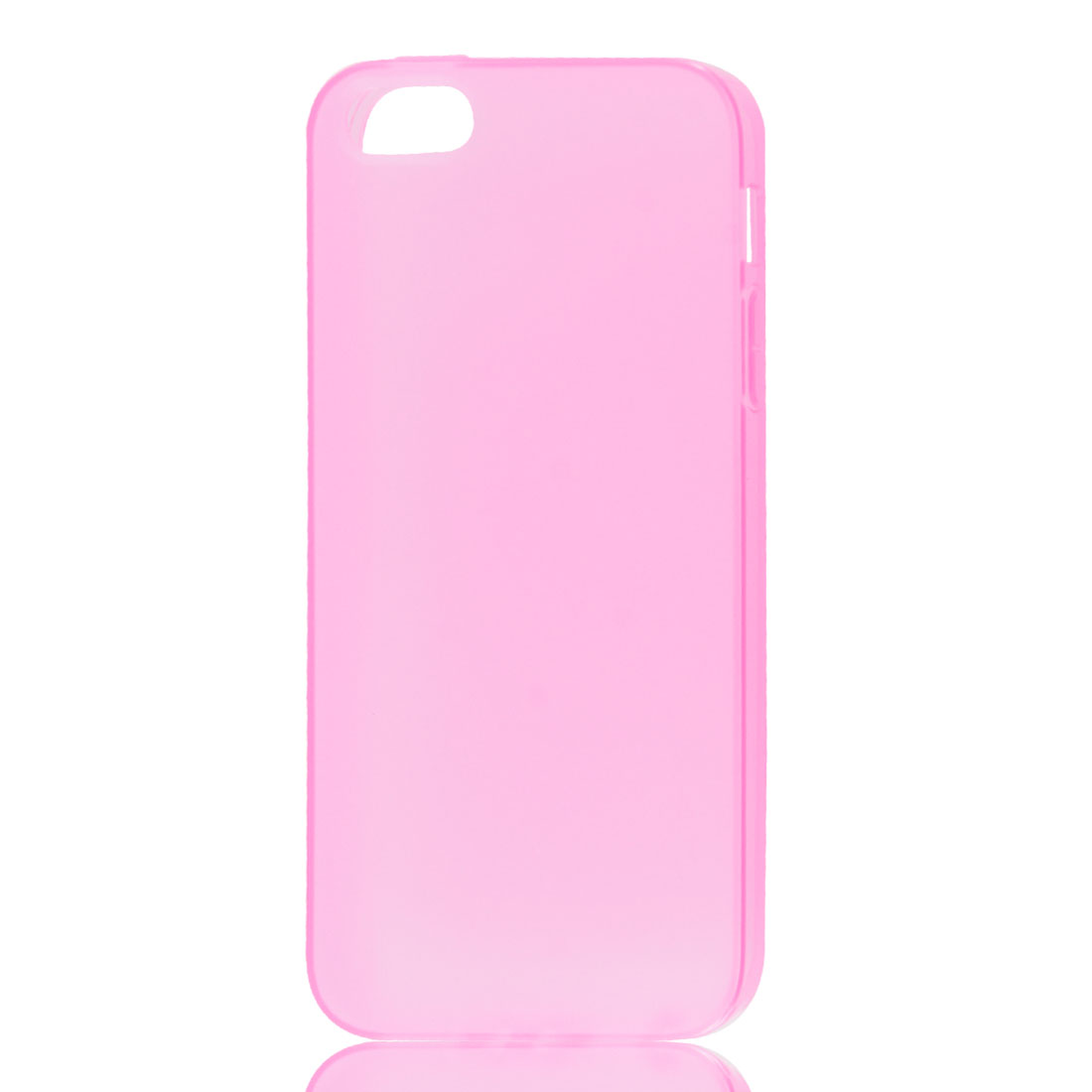 Pink Soft Plastic Matte Protective Case Cover Skin for Apple iPhone 5 5G