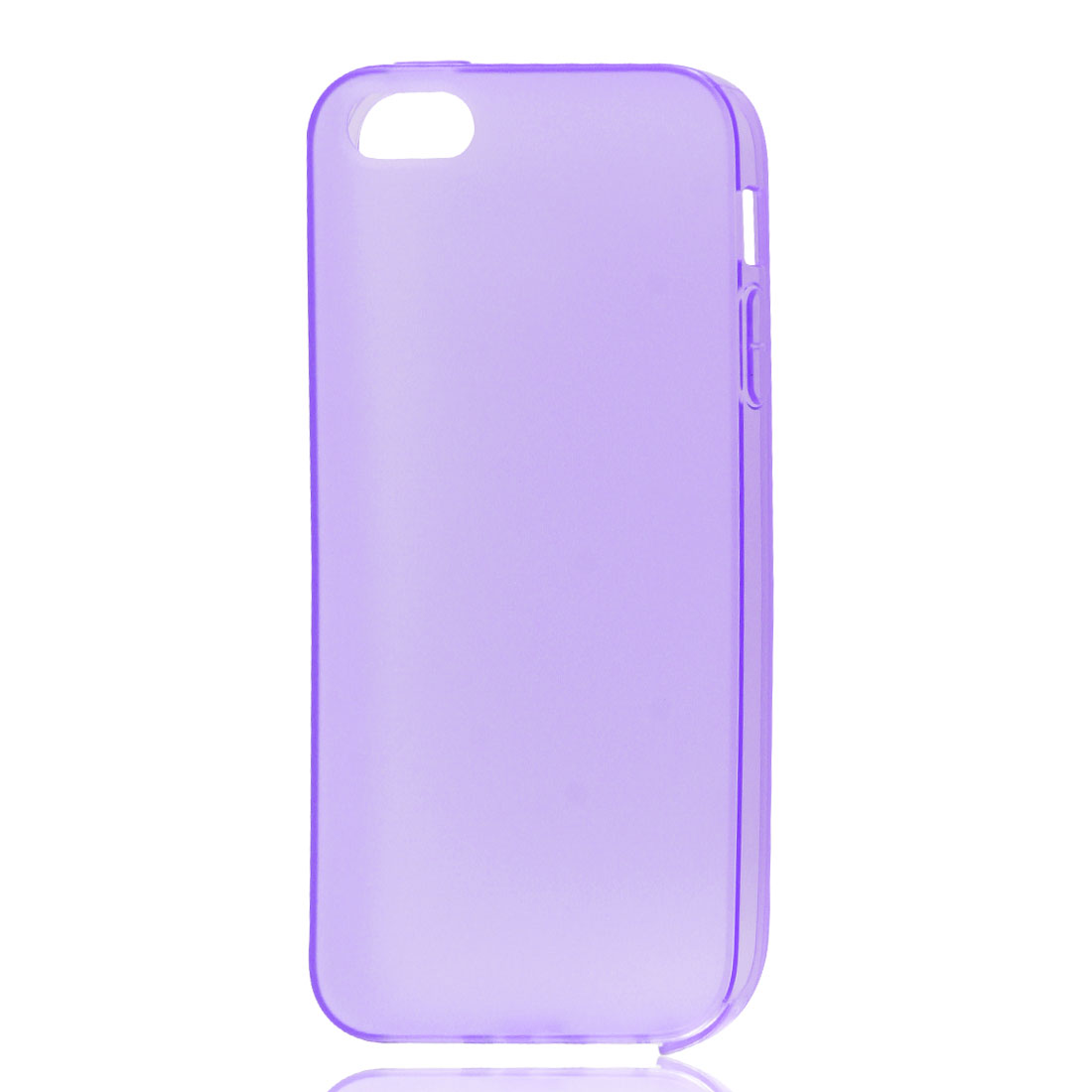 Purple Soft Plastic Matte Protective Case Cover Skin for Apple iPhone 5 5G