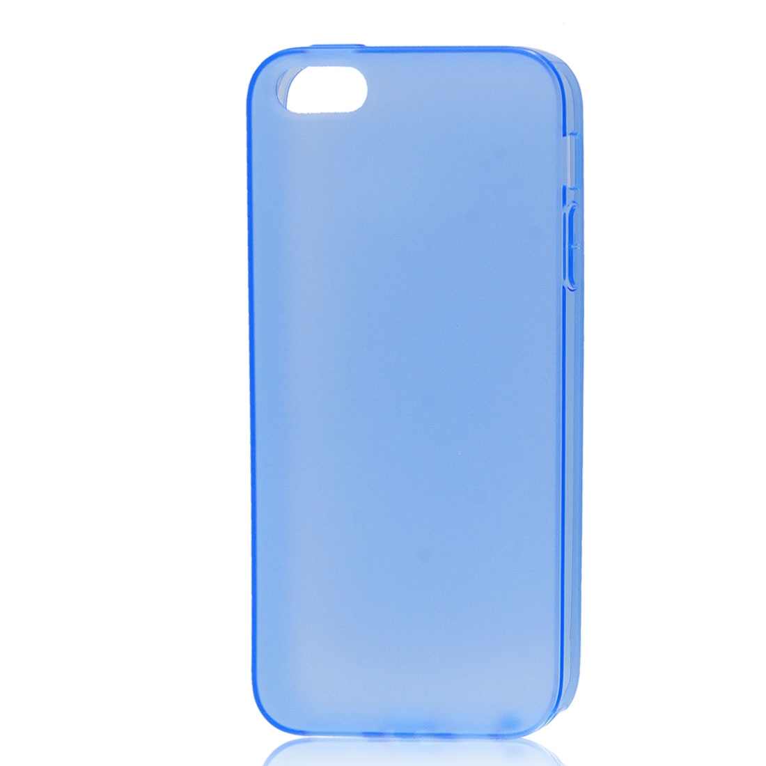 Sky Blue Soft Plastic Matte Protective Case Cover Skin for Apple iPhone 5 5G