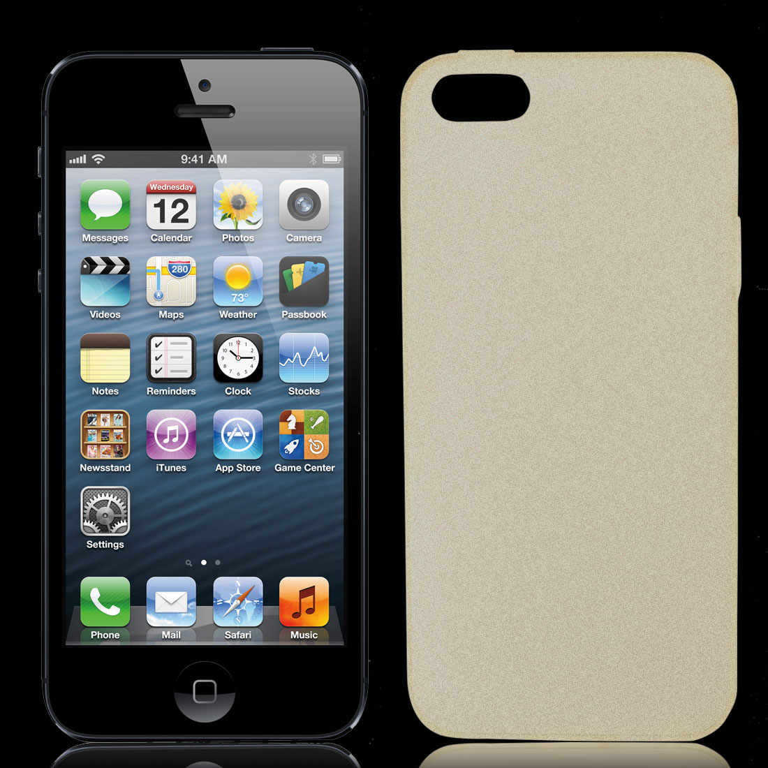 Clear Soft Plastic Matte Protective Case Cover Skin for Apple iPhone 5 5G