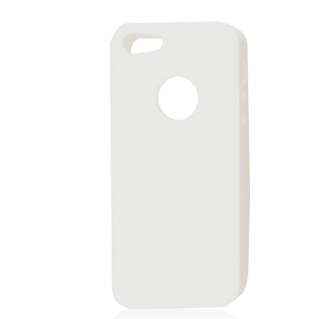 White Silicone Protective Soft Case Skin Cover for Apple iPhone 5 5G