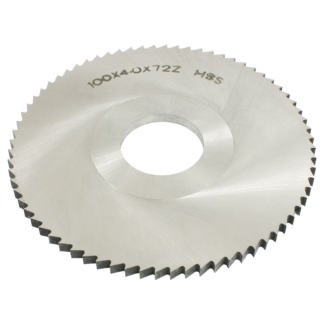 100mm x 4mm x 27mm 72T Milling Slitting Slotting Saw Mill Cutter