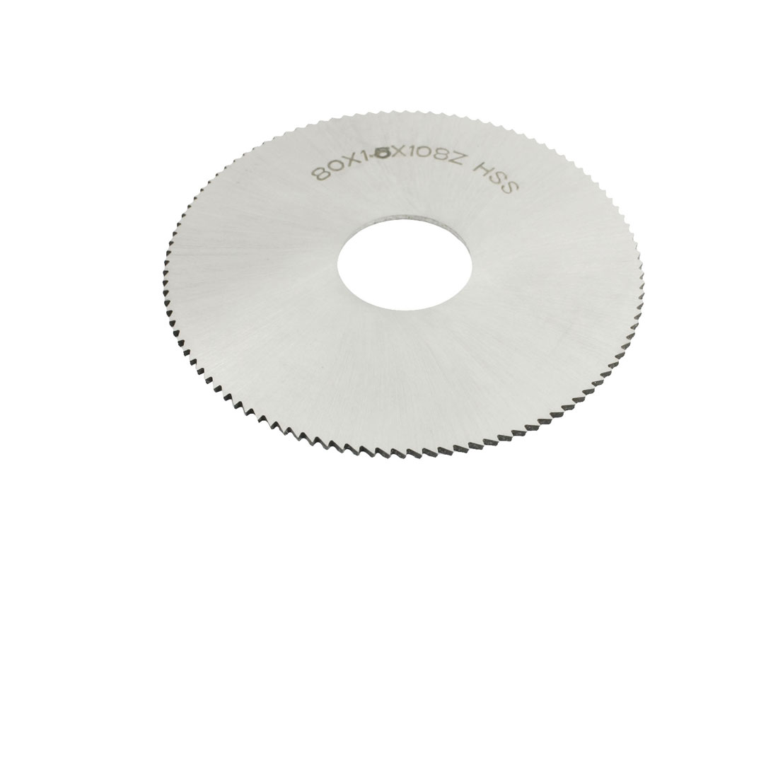 80mm x 1.5mm x 22mm 108T Milling Slitting Slotting Saw Mill Cutter
