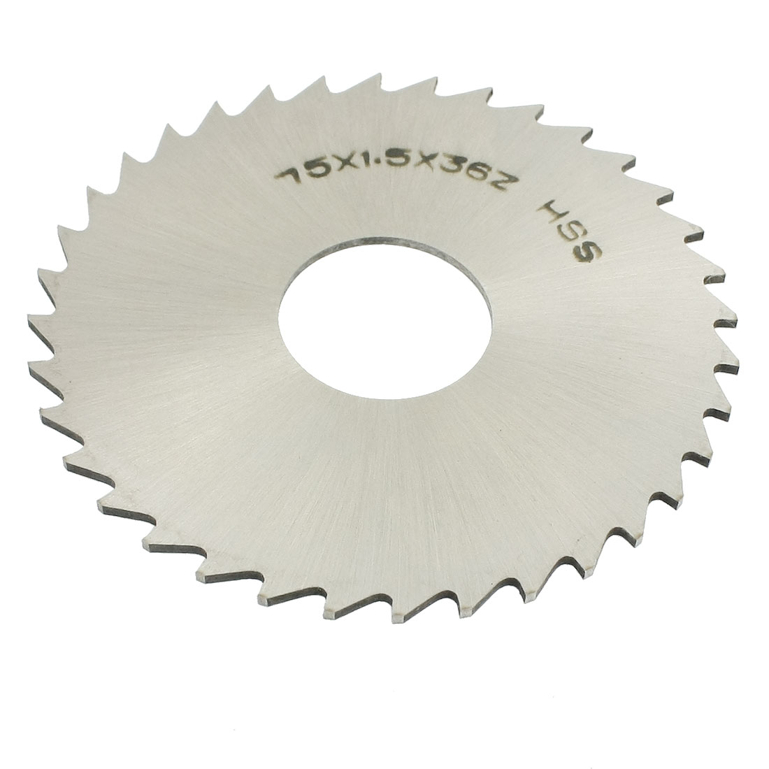 75mm x 1.5mm x 22mm 36T Milling Slitting Slotting Saw Mill Cutter