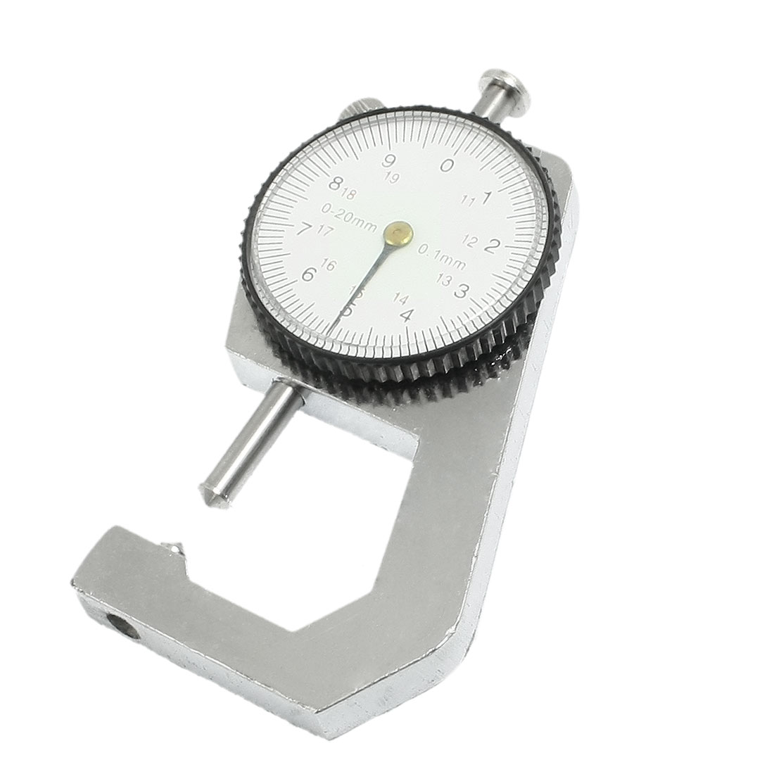 0.1mm Dial Indicator Thickness Gauge Scale Meter Tool 0-20mm Measurement