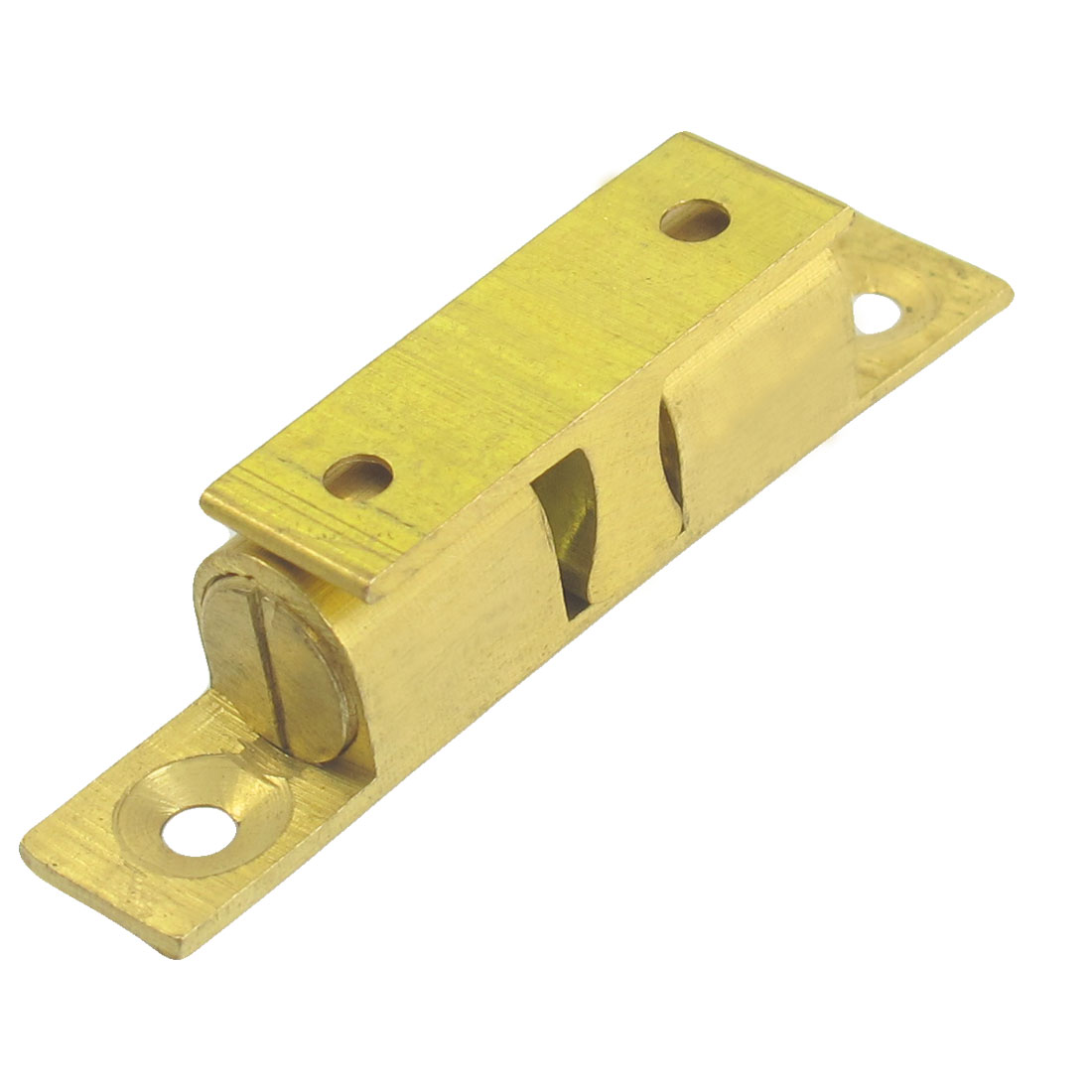 Cabinet Doors Brass Double Ball Catch Hardware 60mm Long