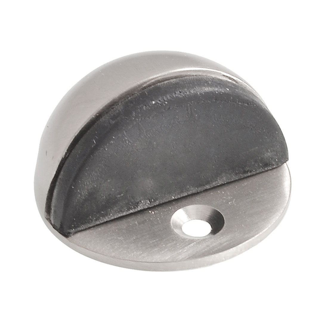 Office Stainless Steel Plastic Round Base Floor Mounted Door Stopper