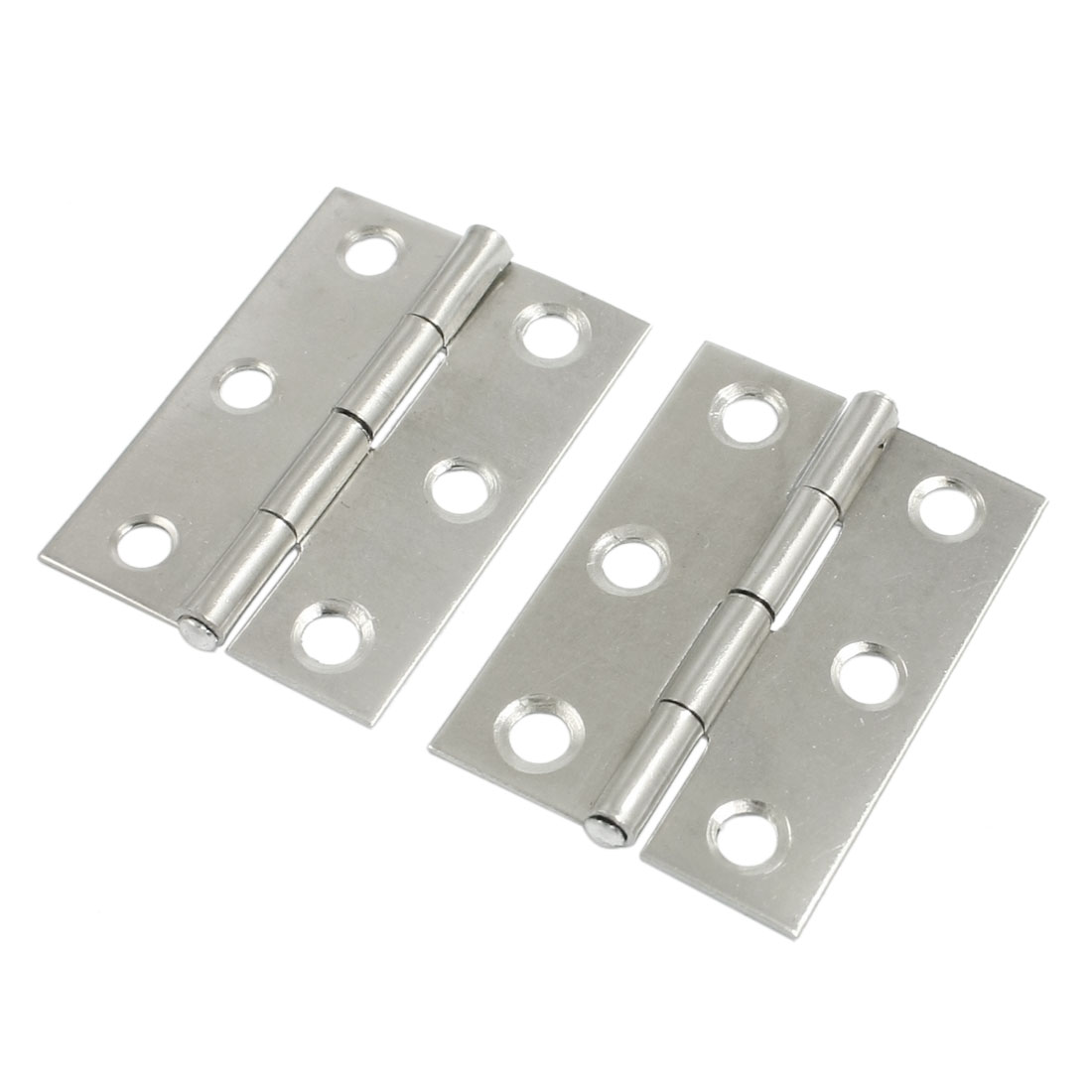 "Door Cabinet Polished Stainless Steel Butt Hinges 1.7"" Pair"