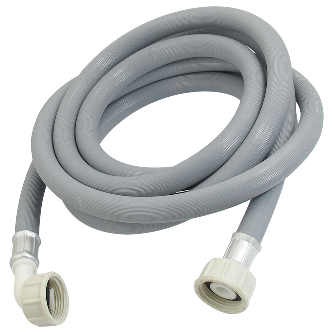 Gray 3 Meter Length Flexible European Water Inlet Hose Tube for Washing Machine