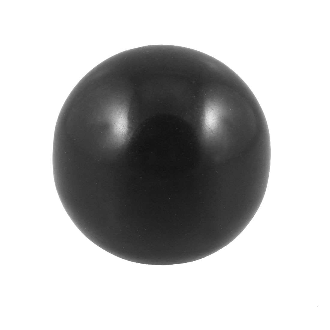 Machine Tool 6mm Threaded 25mm Diameter Tapped Handling Ball Knob Black