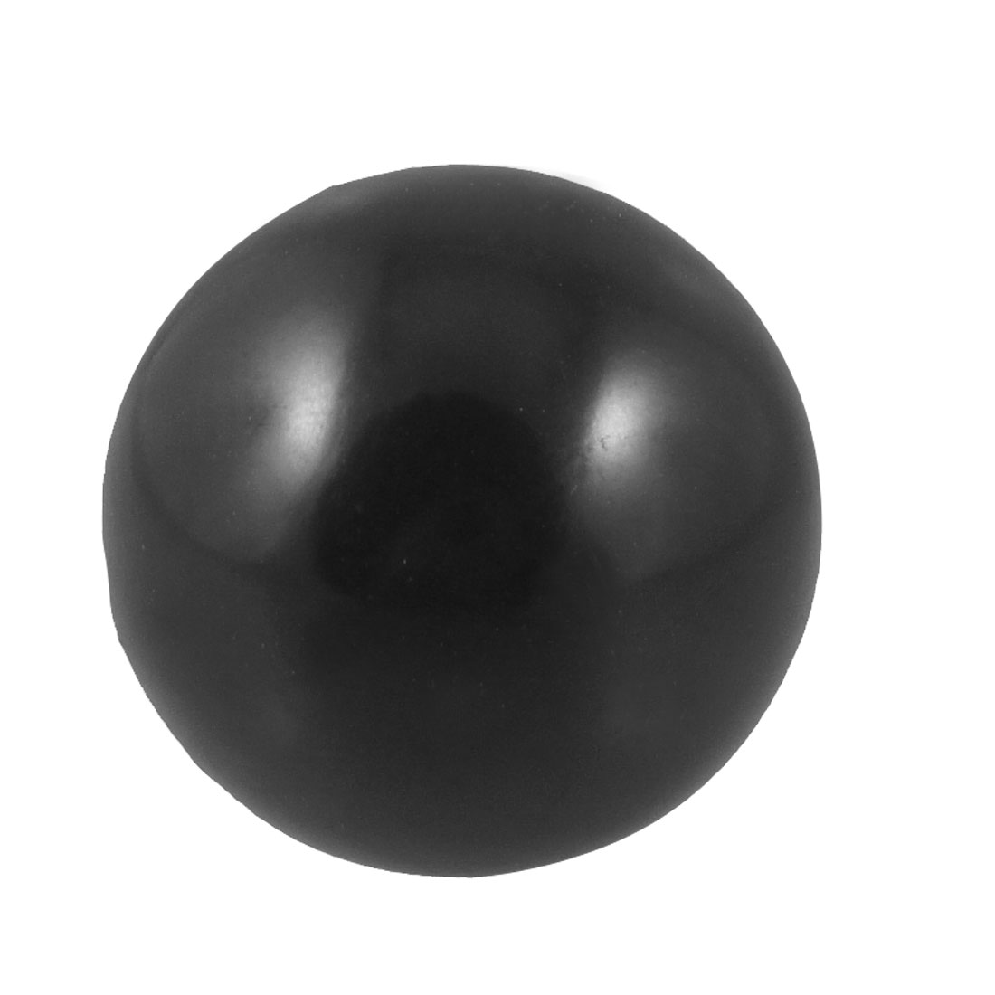 7mm Thread Hole 32mm Diameter Plastic Tapped Handling Ball Knob Black