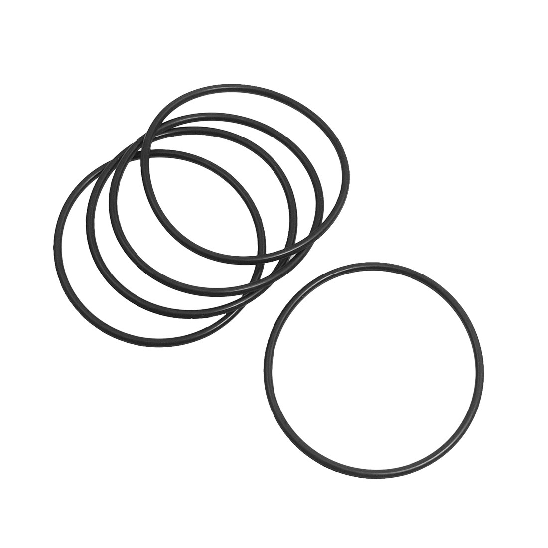 5 Pcs Rubber O Ring Oil Seal Gaskets for Makita HM0810 Electric Pick Gun Gear Box Bearing