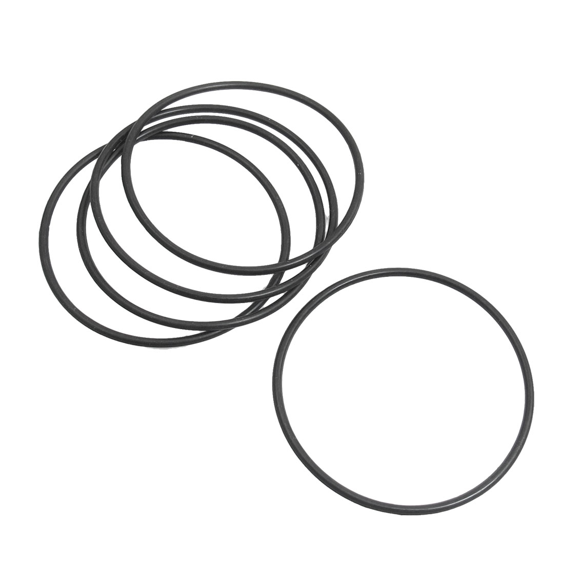 5 Pcs Rubber O Ring Oil Seal Gaskets for Makita HM0810 Electric Pick Gun Gear Box Cylinder