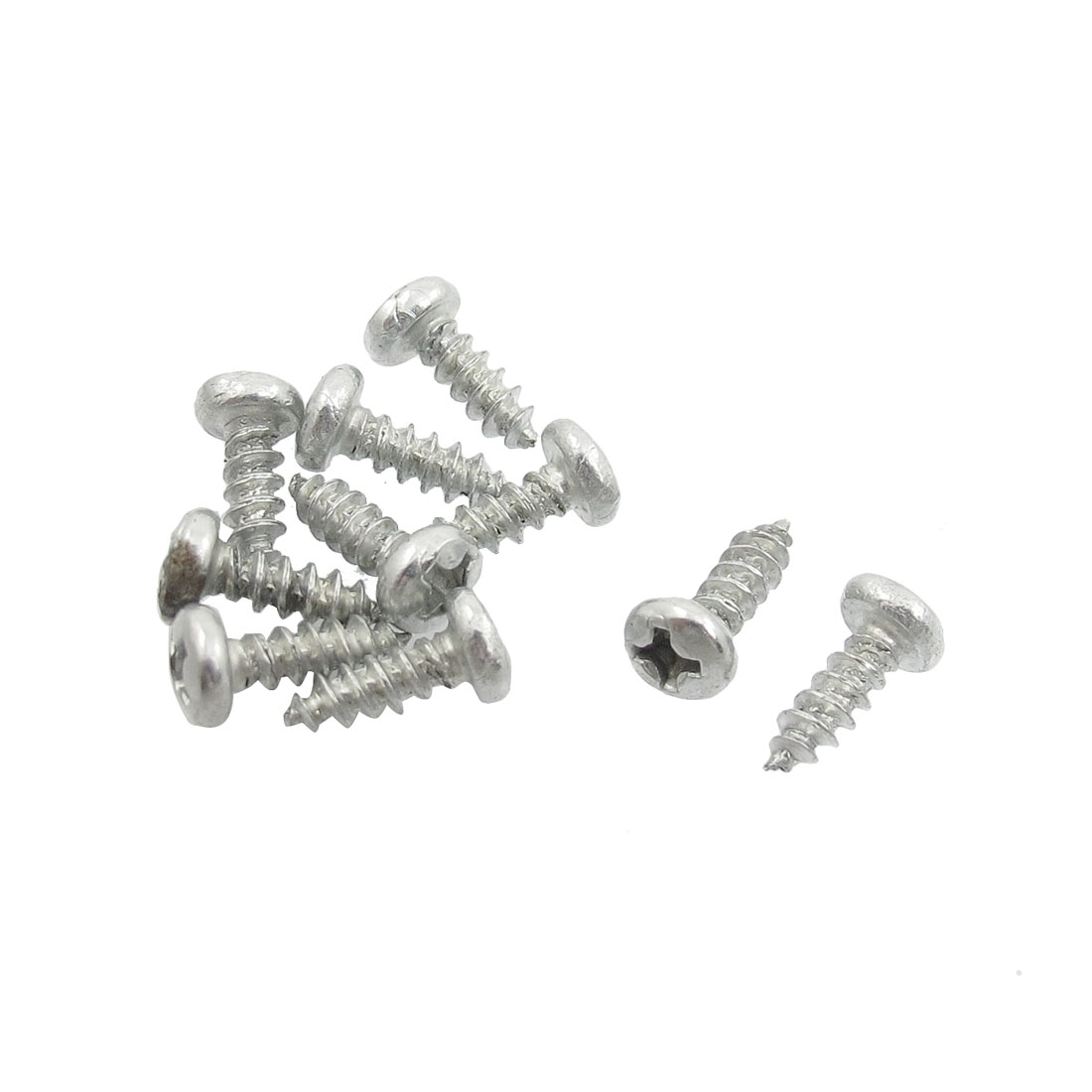"10 Pcs 1/8"" x 1/3"" Phillips Cap Self Tapping Screw for Bosch GWS6-100 Angle Grinder Electric Brush"