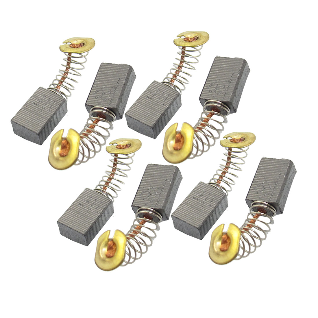"8 Pcs Spring Type Motor Carbon Brushes 33/64"" x 5/14"" x 15/64"" for Makita 100 9523NB 9523B Angle Grinder"