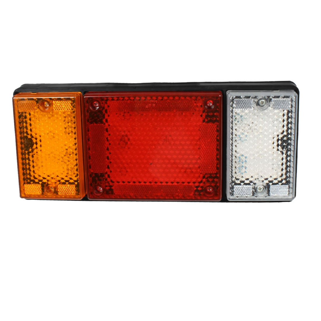 Car Truck Yellow Red White 49 LED Stop Signal Turn Tail Light internal