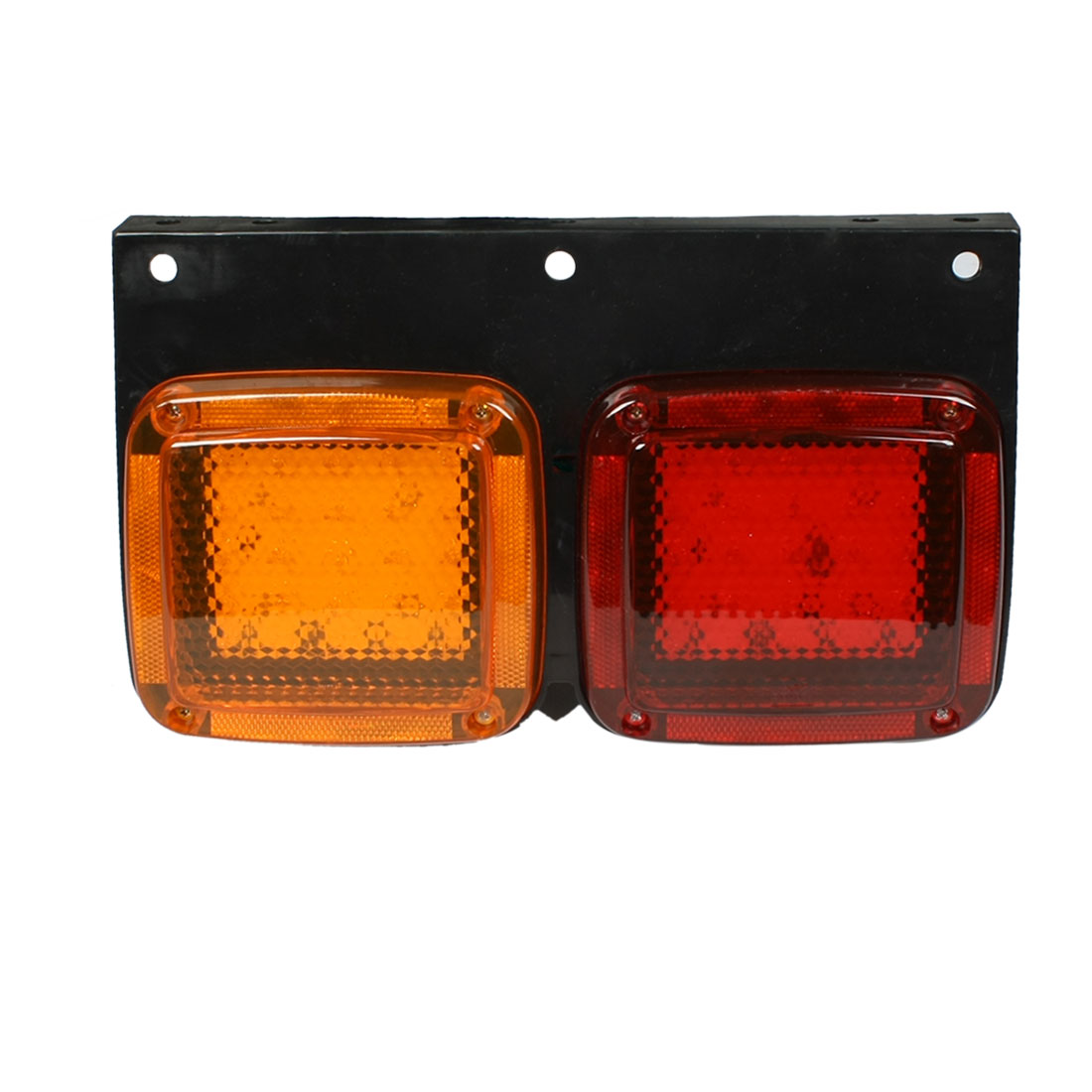 Car Truck Yellow Red 50 LED Left Side Stop Signal Turn Tail Lamp Taillight