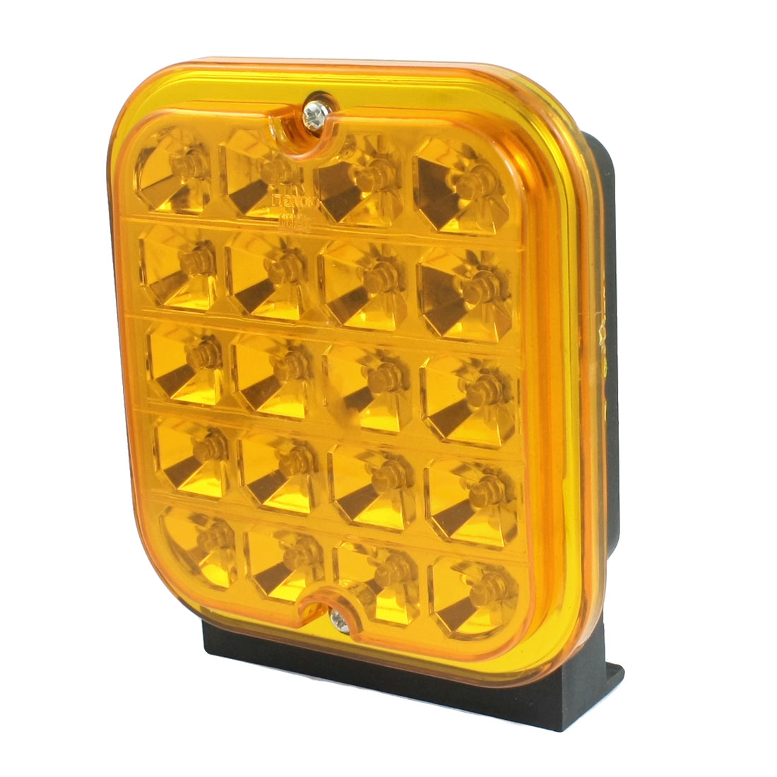 Car Truck Squared Yellow 20 LED Daytime Running Fog Light Lamp DC 24V