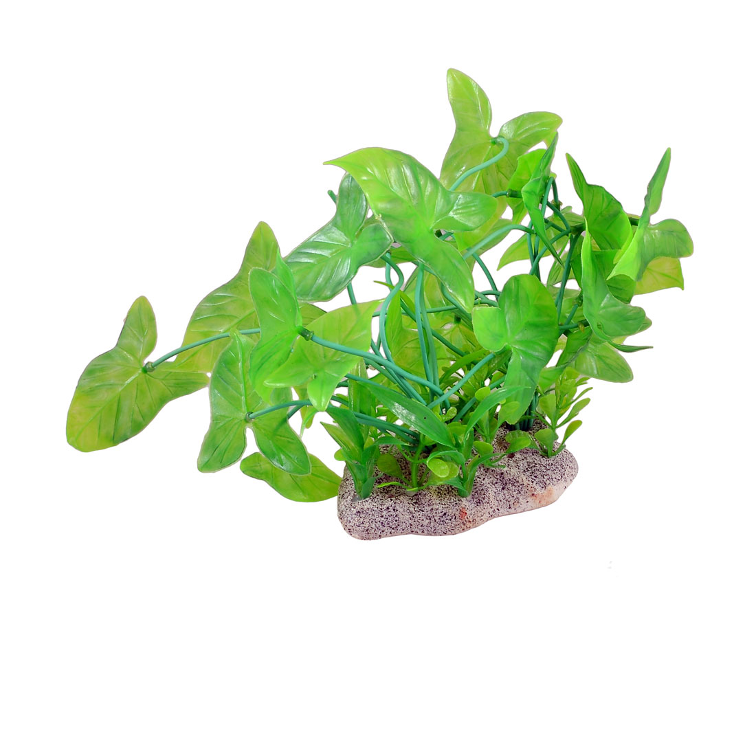 "Artificial 7.5"" Height Green Water Grass Plants for Aquarium Fish Tank Decor"