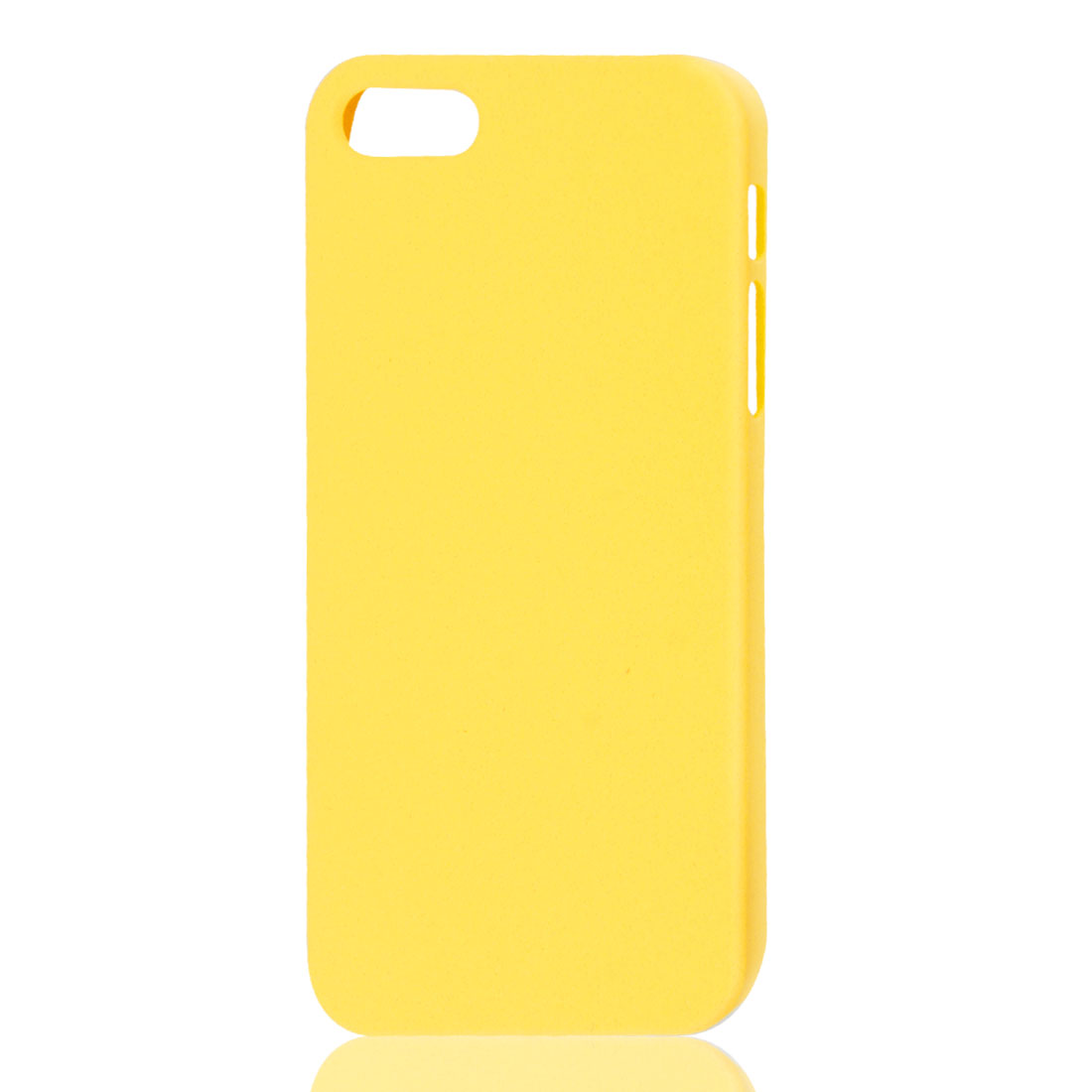 Hard Back Case Protective Cover Yellow for iPhone 5 5G 5th