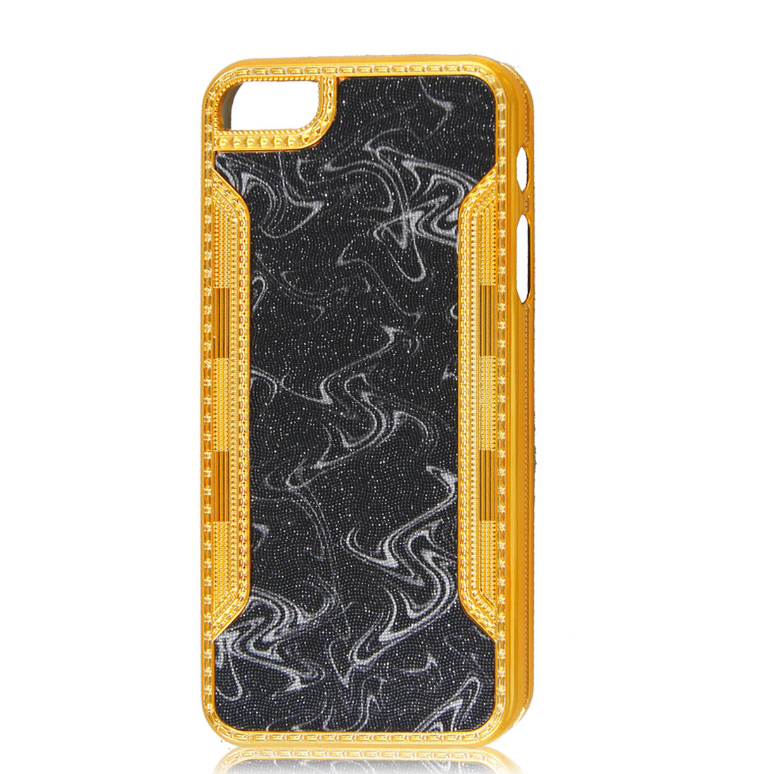 Black Bling Hard Back Case Cover for iPhone 5 5G 5th Gen