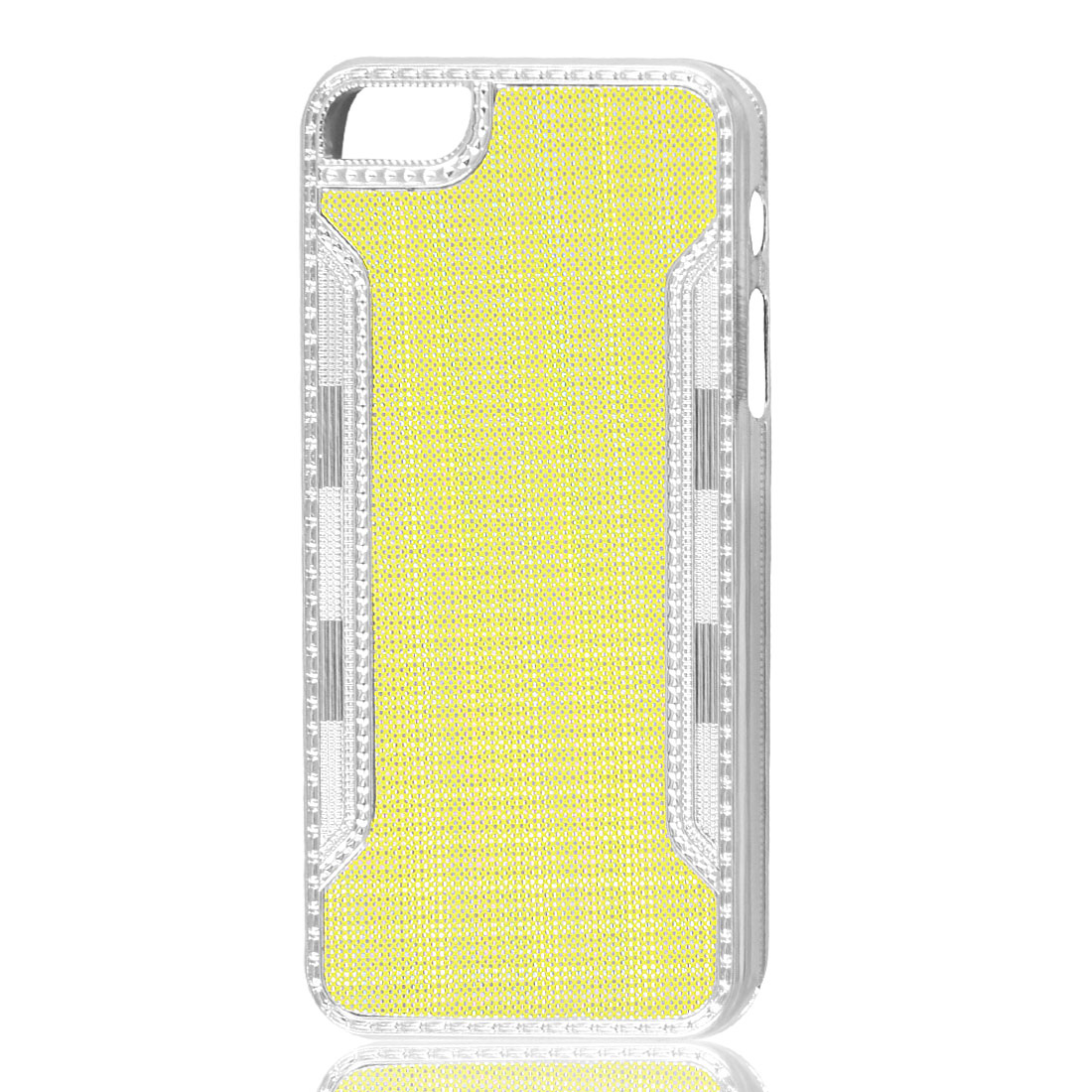 Bling Glitter Sparkling Yellow Hard Back Case Cover for iPhone 5 5G 5th