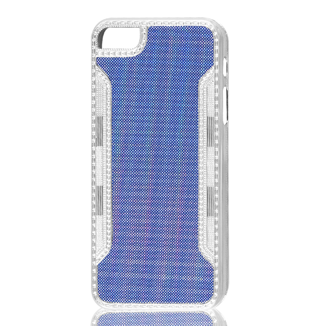 Glitter Bling Blue Hard Back Case Cover for iPhone 5 5G 5th Gen