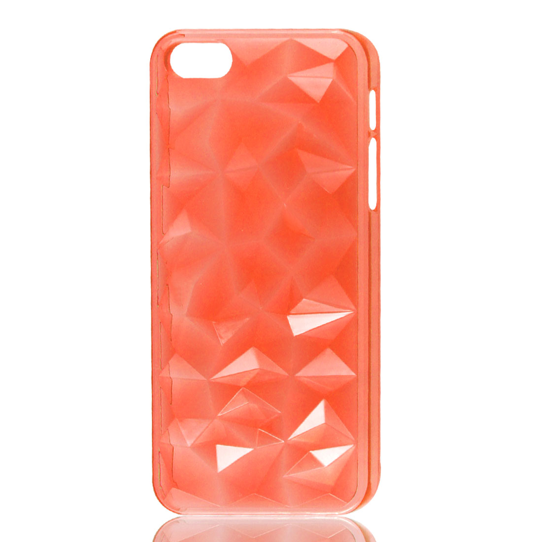 Orangered 3D Water Cube Hard Back Case Cover for iPhone 5 5G 5th